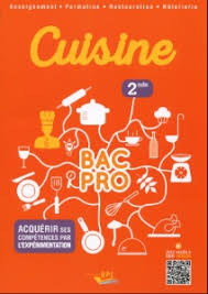editions bpi cuisine à lire cuisine bac pro seconde