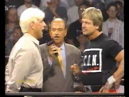 Roddy Piper Meme - ric flair turns on roddy piper 23 6 97 youtube