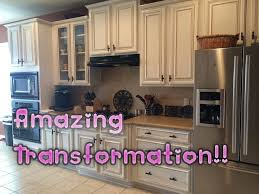 faux glaze finishing kitchen cabinets with hvlp gun how to paint