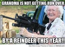 Grandma Meme - grandma is not getting run over meme