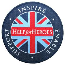 Flag Badges Embroidered Woven Flag Badge Help For Heroes