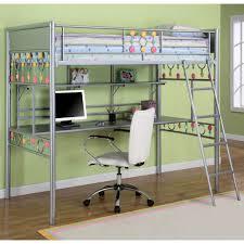 Desk Measurements Metal Bunk Bed With Desk 61 Trendy Interior Or Powell Z Bedroom