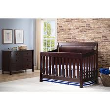 Bed Frame For Convertible Crib Simmons Madisson Convertible Crib N More Espresso