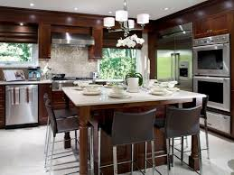 kitchen island with table seating kitchen islands with seating hgtv within kitchen island 4 seats
