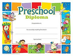 preschool diploma preschool diploma 8 1 2 x 11 inch 30 pack everything else