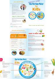 brochure on healthy eating healthy lifestyle brochure design