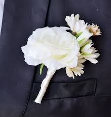 boutonnieres for wedding online shop free shipping white green corsages prom