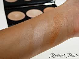 makeup revolution radiant lights makeup revolution highlighter palette radiance 12 50 take