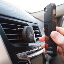 porta iphone auto phone holder for air vent magnetic cradle car mount co uk