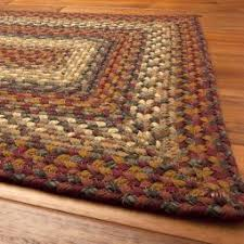 Woven Rugs Cotton Cotton Braided Rugs Primitive Home Decors