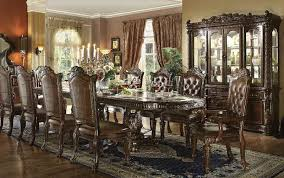 Large Formal Dining Room Tables Furniture Vendome Large Formal Dining Room Set In Cherry
