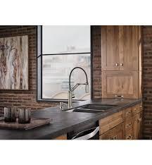 articulating kitchen faucet brizo 63221lf solna single handle articulating kitchen faucet