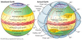 Interior Of The Earth For Class 7 Intertropical Convergence Zone Itcz Meteorology Britannica Com