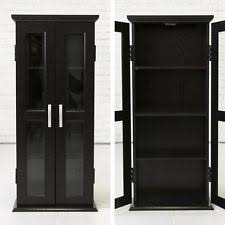 black bookcases with glass doors antiqued 58