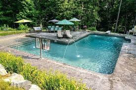 inground swimming pool ideas diy inground pool ideas in ground