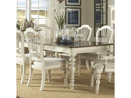 hillsdale pine island dining table with turned legs hudson u0027s