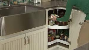 corner kitchen cabinet lazy susan corner kitchen cabinet solutions