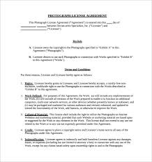 sample license agreement template 10 free documents in pdf doc