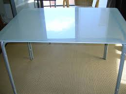 table de cuisine en verre trempé table ikea verre trempe en avec plateau fum with wb149990304 1 6