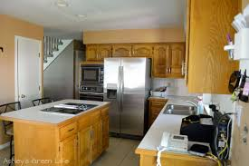 ashley s green life how i transformed my kitchen cabinets for some