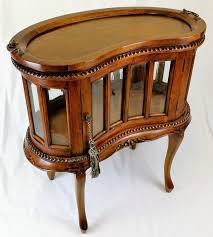 Solid Mahogany Dining Table Beautiful New Solid Mahogany Peanut Shaped Drinks Cabinet With