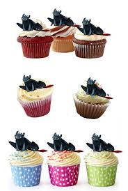 toothless cake topper toothless fury edible stand up wafer paper cupcake