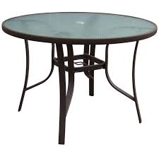 42 Patio Table Brown Steel Patio Table 42 In At Home At Home