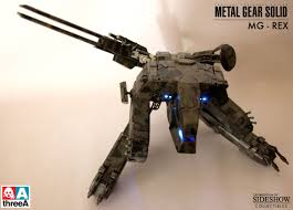 Metal Gear Halloween Costume Metal Gear Solid Rex Replica Figure Threea Aaa 901831