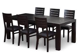 chair dining room sets leather chairs brown sale great black