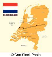 netherlands map flag netherlands map clipart vector and illustration 1 309 netherlands