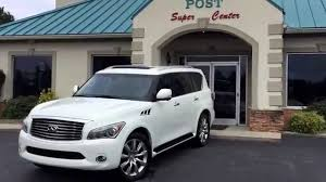 infiniti qx56 wheels and tires c1310 2011 infiniti qx56 awd white youtube