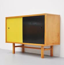 jaap penraat beech and linoleum cabinet for n v pentagonia 1960