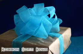 gift bow diy ribbon gift bows lines across