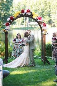 wedding arches plans best 25 wooden arch ideas on wooden arbor wedding
