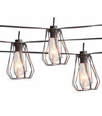 hudson 43 naturalist set of 8 decorative patio lights home