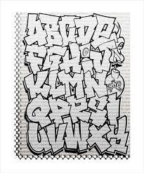 graffiti alphabet letter template u2013 20 free psd eps format