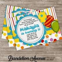 boy birthday invitations product categories dandelion avenue