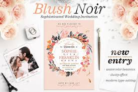 wedding invitations for cheap invitation templates creative market