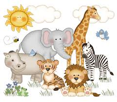 safari nursery decor decal jungle animal wall art mural stickers