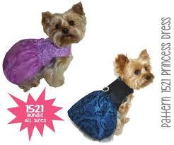 Dog Wedding Dress Princess Dog Dress Pattern Bundle All Sizes Dog Clothes