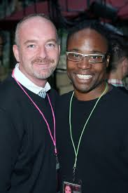 Rodney Scott and Billy Porter - Gay Pride Festival - Protest March - Rodney Scott Billy Porter Gay Pride Festival rxyKIC5cjLVl