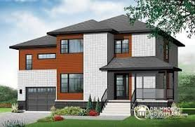 contemporary modern house plans modern house plans contemporary home plans from drummondhouseplans com