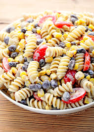 pasta salad recipes cold southwestern black bean pasta salad recipe she wears many hats