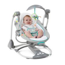 Can Baby Sleep In Vibrating Chair Ingenuity Convertme Swing 2 Seat Portable Swing Ridgedale
