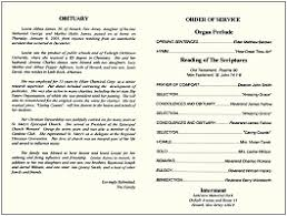 memorial service program 5 what is program for funeral service new tech timeline