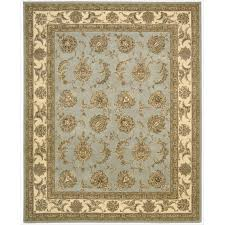 9 X 6 Area Rugs Nourison 2000 Traditional Hand Tufted Tabriz Black Rug 2 U00276