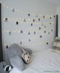 lights on wall with pictures tween teen fairy light photo wall