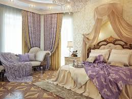 Princess Style Bedroom Furniture by Fabulously Luxurious Victorian Master Bedroom In Lavender And Gold