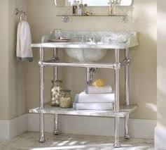Apothecary Console Table Chrome Console Sink Foter