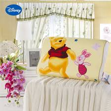 cartoon winnie pooh printed memory pillows slow rebound waving